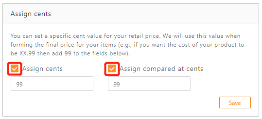 Standard Pricing Rule with DSers - set assign cents - DSers