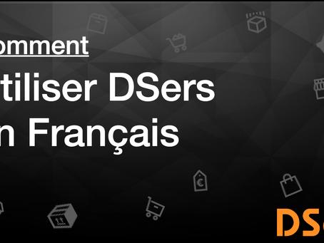 Comment utiliser DSers en Français