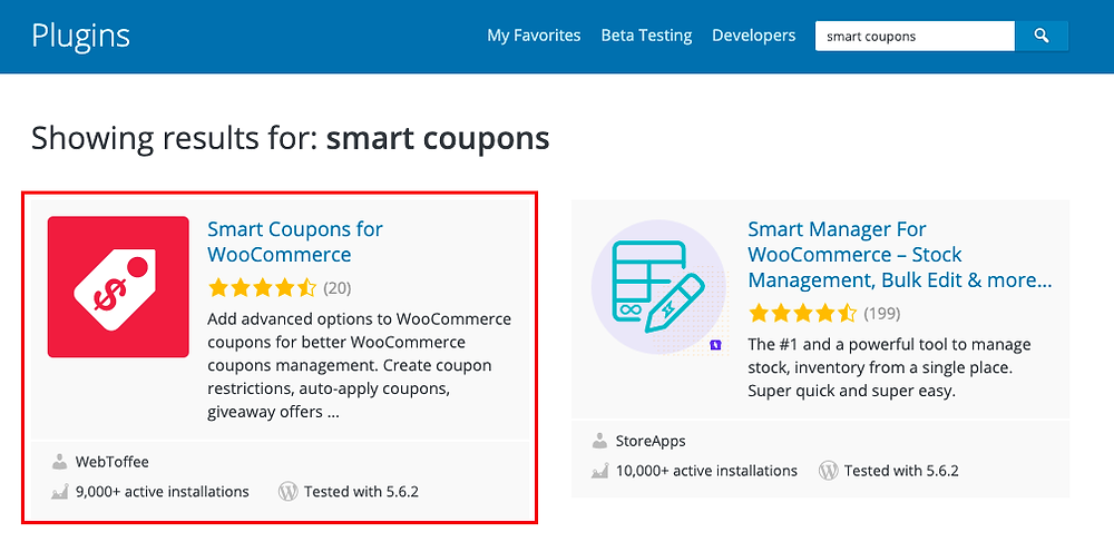 Discover Smart Coupons for WooCommerce  - Smart Coupons - Woo DSers