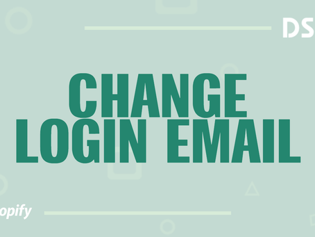 Change login email