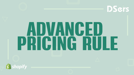 Advanced Pricing Rule