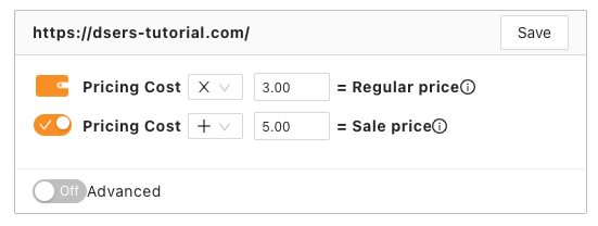 Pricing rules with Woo DSers - Different combination - Woo DSers