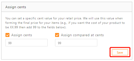 Standard Pricing Rule with DSers - save assign cents setting - DSers