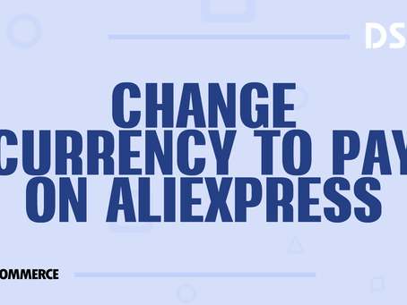 Change currency to pay on AliExpress