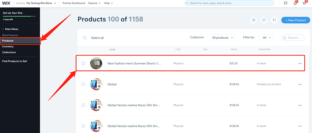 Import List with Wix DSers - products on Wix - Wix DSers