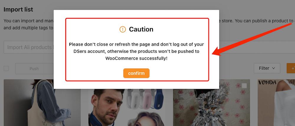 Enviar um produto a uma loja WooCommerce com Woo DSers - 7 - Woo DSers