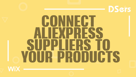 Connect AliExpress suppliers to your products