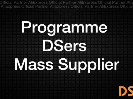 Programme DSers Mass Supply