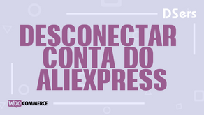 Desconectar conta do AliExpress