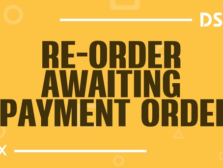 Re-order Awaiting payment orders