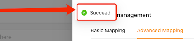 Advanced Mapping with Woo DSers - Success notification - Woo DSers