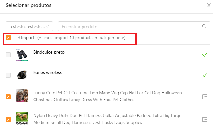 Como importar produtos do WooCommerce para o DSers - 4 - DSers