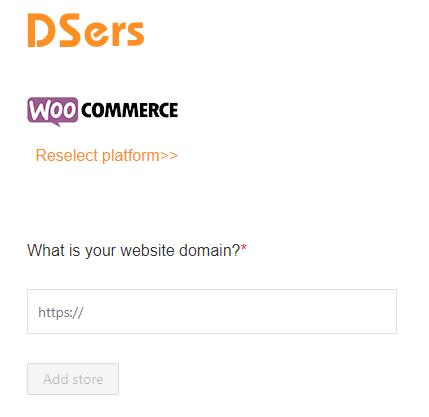 Como adicionar uma loja WooCommerce - 5 - DSers