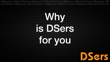 Why is DSers for you