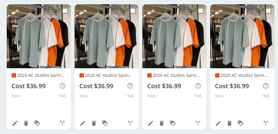Split a product with Wix DSers - New products were created - Wix DSers