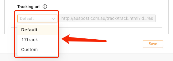 Set tracking for your orders with Woo DSers - Change Tracking URL - Woo DSers