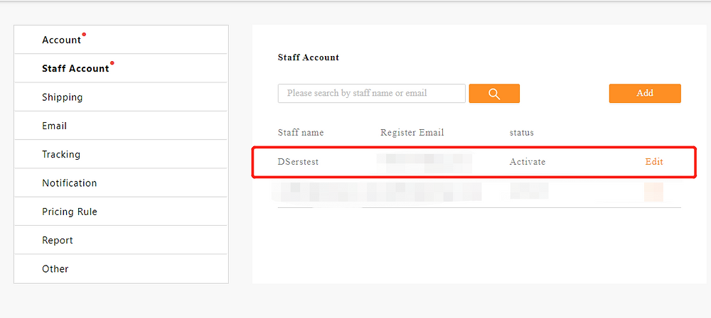 Add Staff Account to your Woo DSers - added successfully - DSers