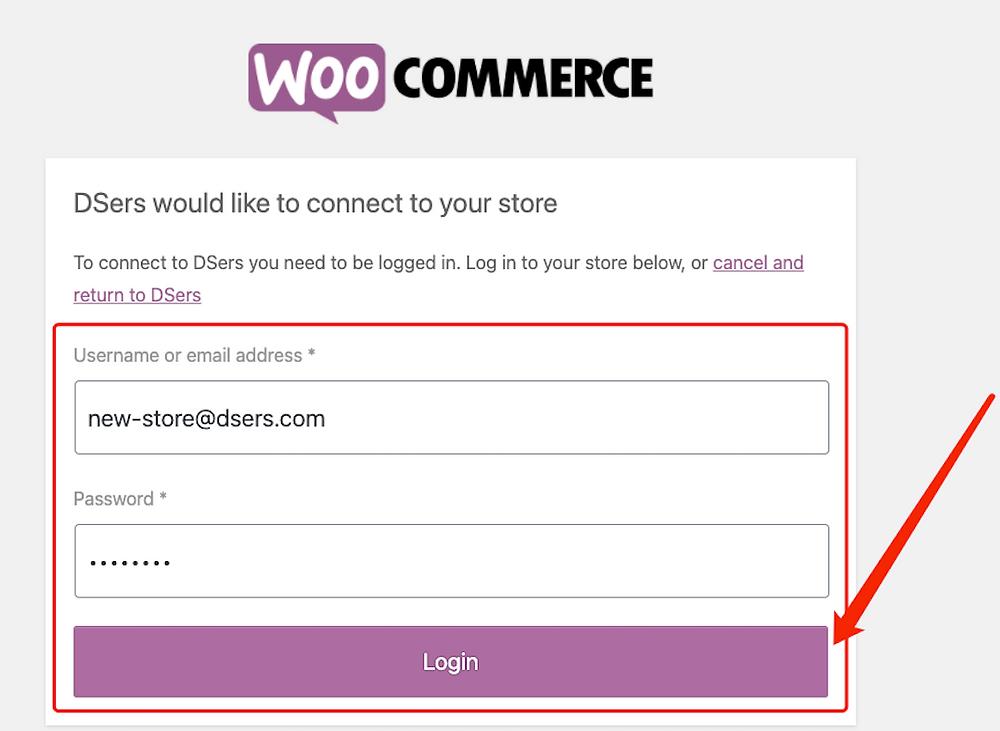 Adicionar uma loja WooCommerce com Woo DSers - 4 - Woo DSers