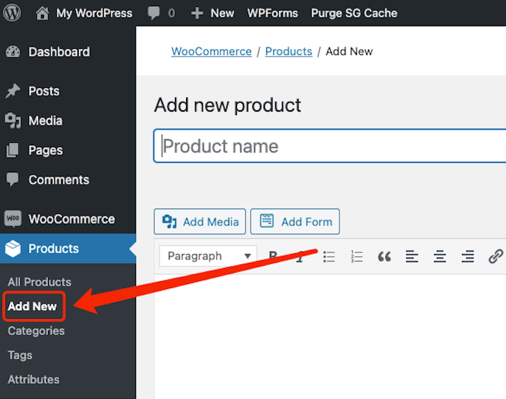 Create Buy One Get One offers with Woo DSers - Add New product on WooCommerce - Woo DSers