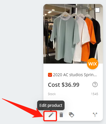 Edit a product on DSers with Wix DSers - Edit product - Wix DSers