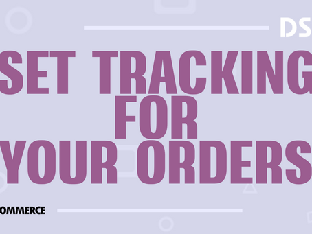 Set tracking for your orders