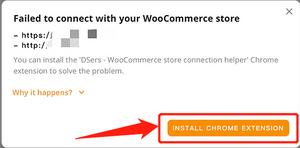 Por que o DSers não consegue se conectar à sua loja com Woo DSers - 3 - Woo DSers