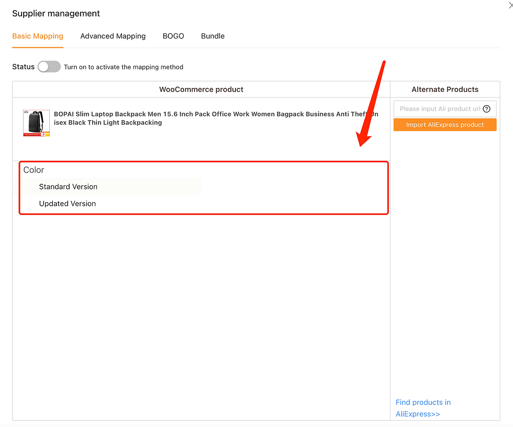 Migrate data from ShopMaster with Woo DSers - Product not mapped - Woo DSers