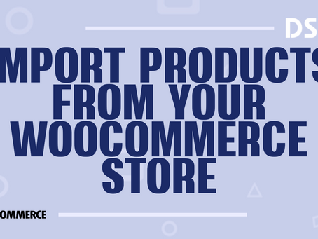 Import products from your WooCommerce store