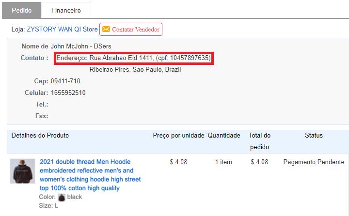 Especificações de pedidos para o Brasil com Woo DSers - 4 - Woo DSers