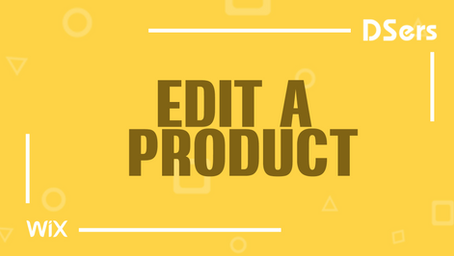 Edit a product on DSers