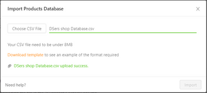 How to use CSV files to bulk order on DSers