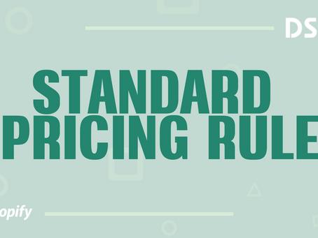 Standard Pricing Rule