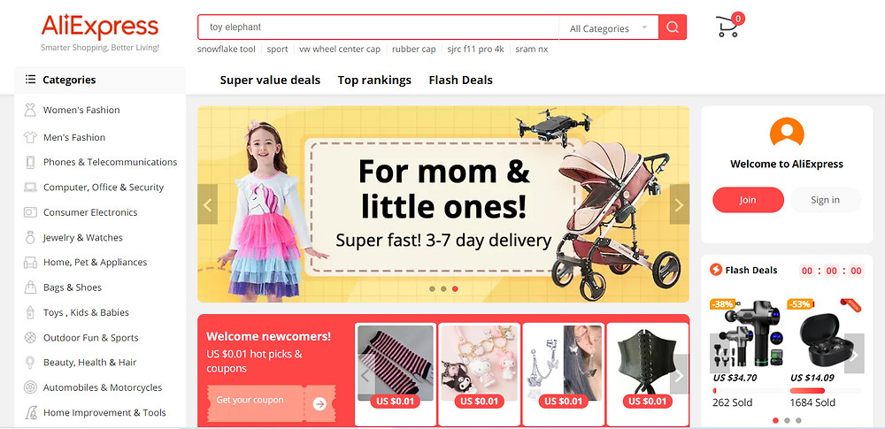 What is AliExpress - homepage - DSers