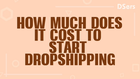 How much does it cost to start dropshipping