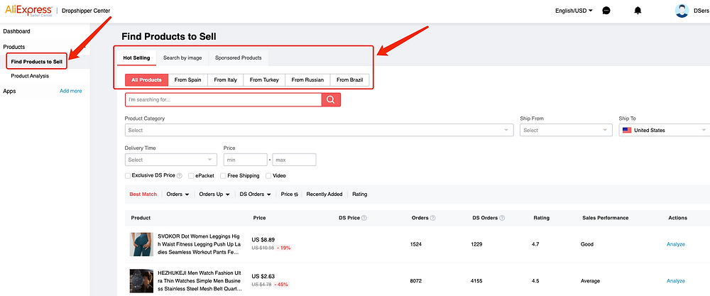 AliExpress whitelist introduction with Woo DSers - Find Products to Sell - Woo DSers