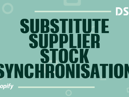 Substitute supplier stock synchronization