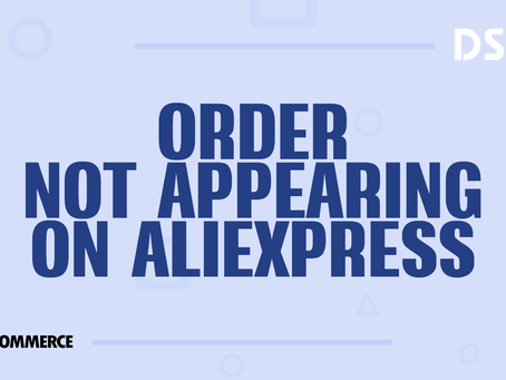 Orders not appearing on AliExpress
