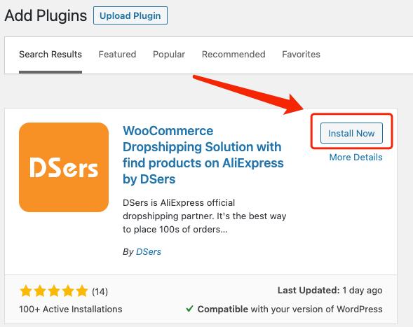 Install Woo DSers on WordPress - Install DSers - Woo DSers