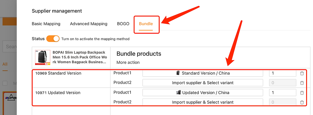 Migrate data from ShopMaster with Woo DSers - Product is mapped - Woo DSers