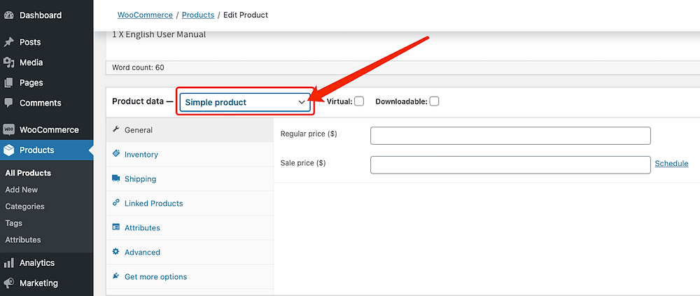 Create Bundles of products with Woo DSers - Change product type - Woo DSers