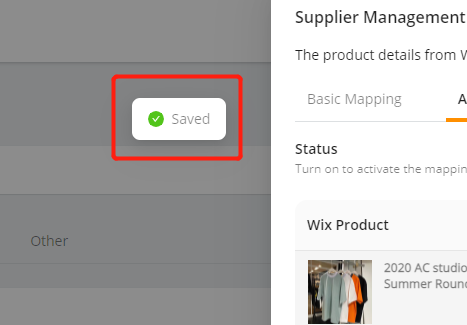 Advanced Mapping with Wix DSers - saved - Wix DSers