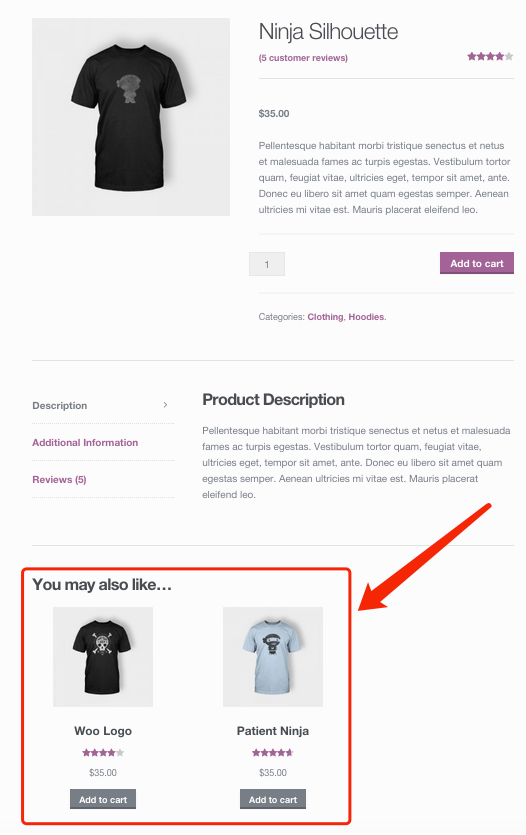 Edit a product on WooCommerce with Woo DSers - Upsells display - Woo DSers