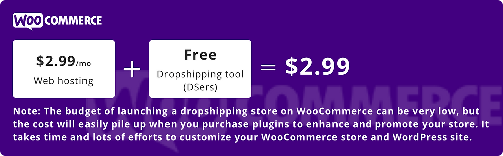 How much does it cost to start dropshipping - Minimum Cost to start dropshipping on WooCommerce - DSers