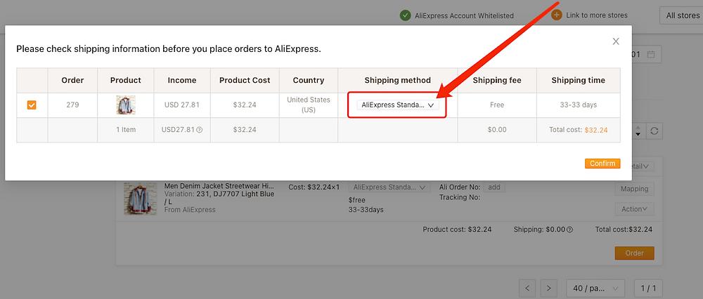 Fazer um pedido do WooCommerce no AliExpress com Woo DSers - 3 - Woo DSers