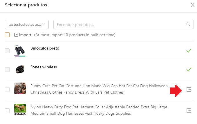 Como importar produtos do Shopify para o DSers - 5 - DSers