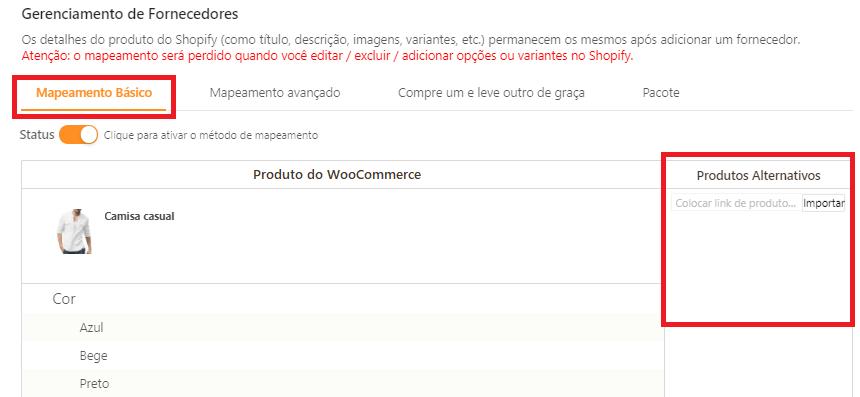 Como mapear meus produtos para o WooCommerce - 5 - DSers