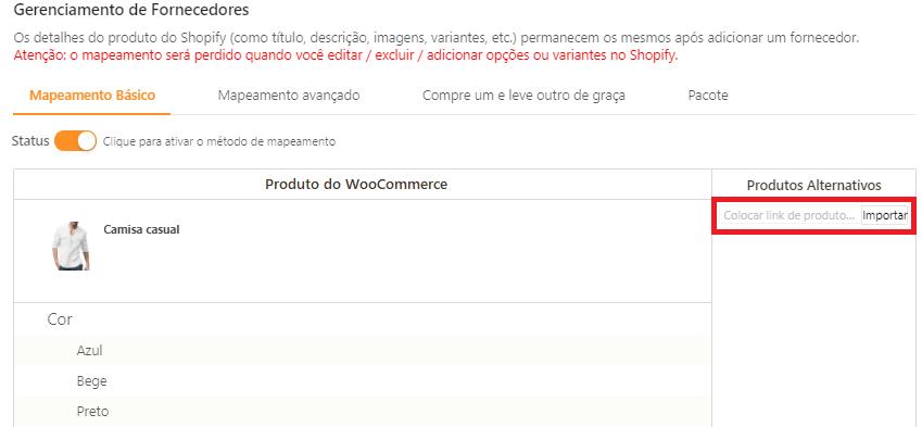 Como mapear meus produtos para o WooCommerce - 6 - DSers