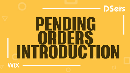 Pending orders introduction