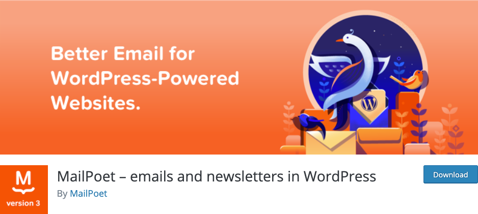 Best Email Marketing Plugins on WordPress and WooCommerce - MailPoet - DSers