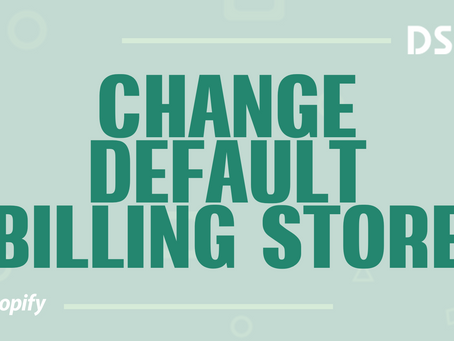 Change default billing store